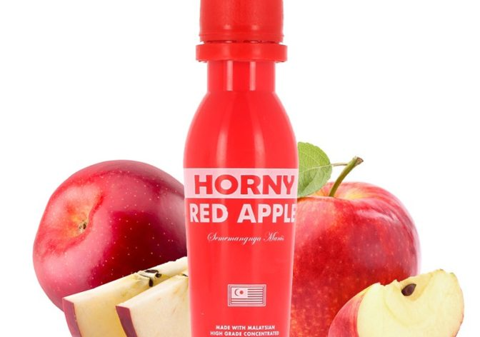 red apple  672x472 - HORNY RED APPLE - 65ml 3mg