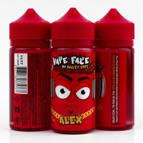 1 500x500 - VAPE FACE  Alex 100 мл 0 мг