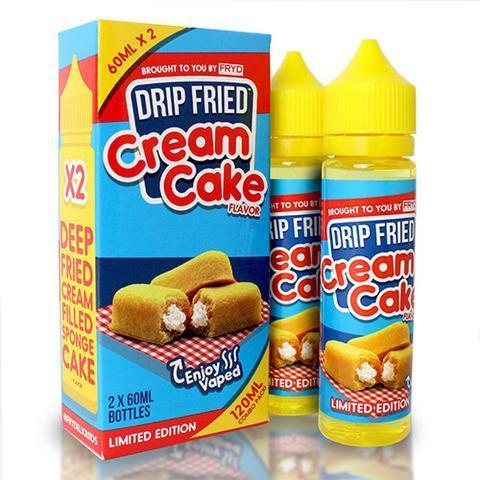 deep fried cream cake fryd e liquid large - Drip Fried Cream Cake 60 мл 3 мг