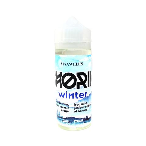 large shoria winter - Maxwells SHORIA Winter 120 мл 3 мг