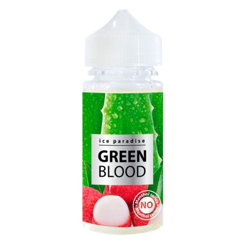 ice paradise green blood 500x500 - Ice Paradise Green Blood 100 ml 3 mg