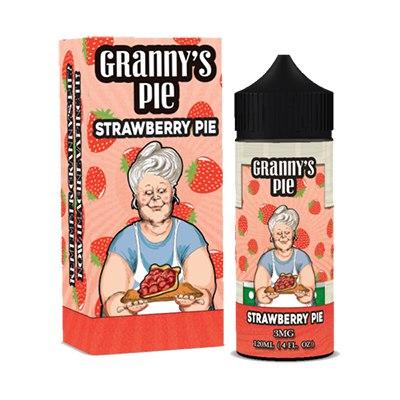 j336 zn8MY - Granny's pie Strawberry Pie 120 ml 3 mg