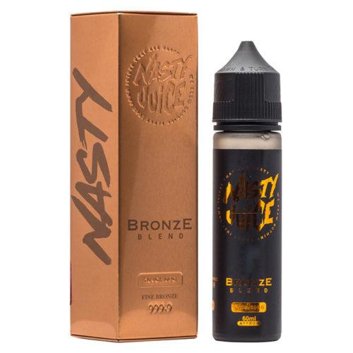 nasty tobacco bronze blend 500x500 - Nasty Juice Tobacco Bronze Caramel 60 ml 3 mg