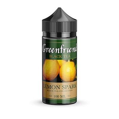 9QLDqZ m ek - Greenfriend 100ml 3 mg Lemon Spark