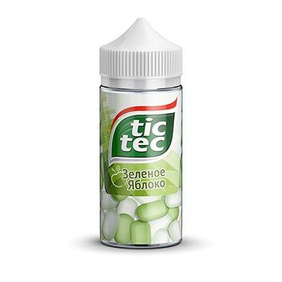 EnCX0 3MuPI - Tic-Tec 100ml 3 mg Зеленое яблоко