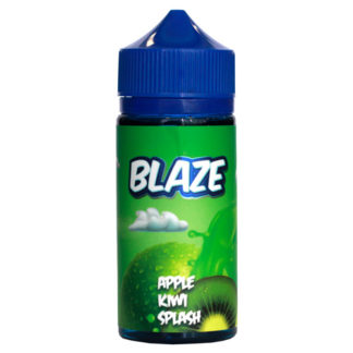 1 7 324x324 - Blaze Apple Kiwi Splash 100 ml 3mg
