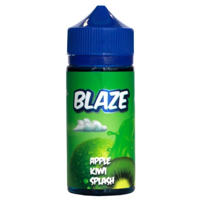 1 7 416x416 - Blaze Apple Kiwi Splash 100 ml 3mg