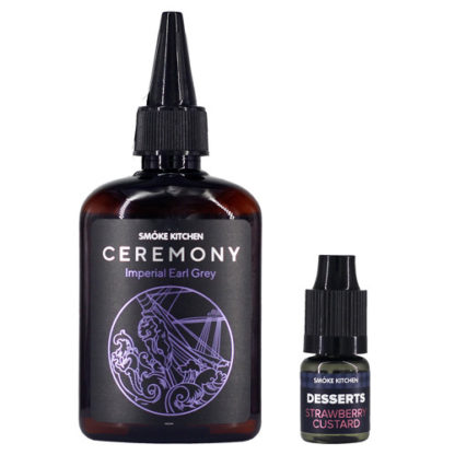2 1 1 416x416 - Smoke Kitchen Ceremony Imperial Earl Grey 100 ml 3 mg (+Strawberry Custard)