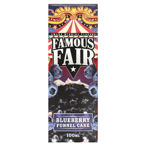 22 1 500x500 - FAMOUS FAIR BY ONE HIT WONDER BLUEBERRY FUNNEL CAKE 100 ml 3 mg