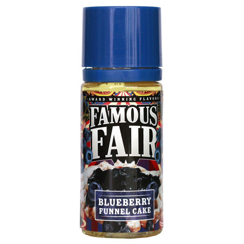 23 1 500x500 - FAMOUS FAIR BY ONE HIT WONDER BLUEBERRY FUNNEL CAKE 100 ml 3 mg
