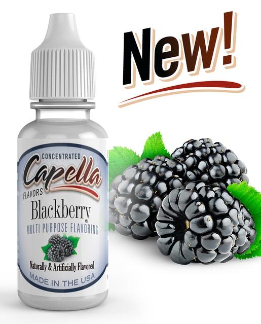 2391 0 blackberry - Capella Blackberry 13 ml