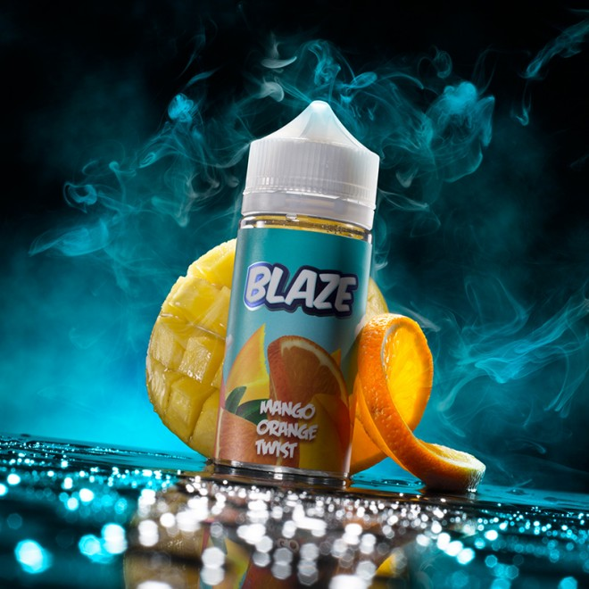 334A0809 660x660 - Blaze Mango Orange Twist 100 ml 3 mg