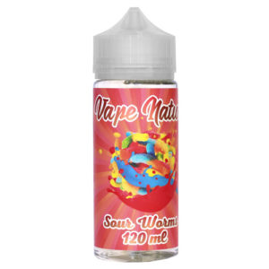 37 3 300x300 - Vape Nation Sour Worms 120 ml 3 mg