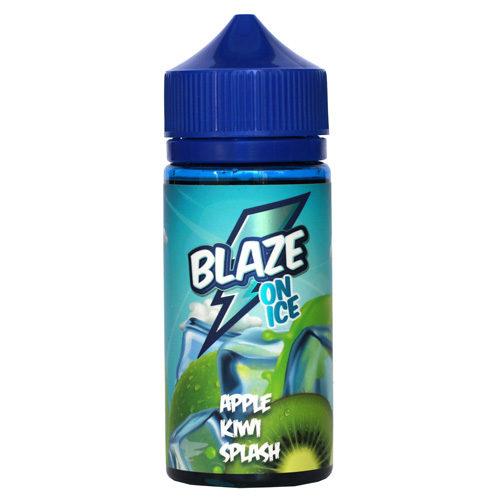 38 2 500x500 - BlAZE ON ICE Apple Kiwi Splash 100 ml 3 mg