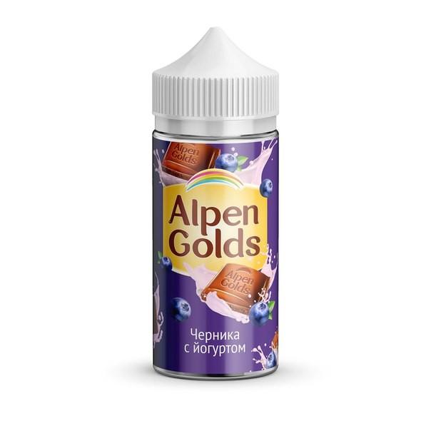 417.750 - Alpen Golds Шоколад с Черникой и Йогуртом 100 мл 3 мг