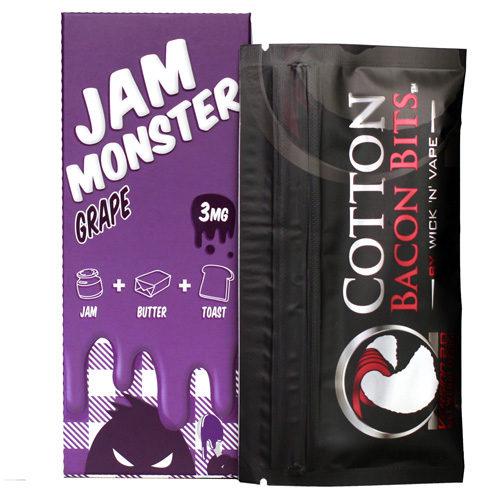 67 500x500 - Jam Monster Grape 100 ml 3 mg
