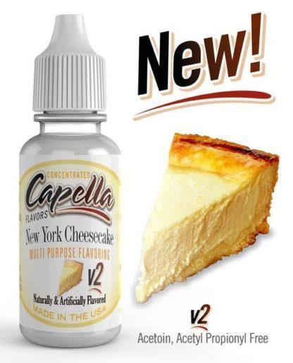 Capella New York Cheesecake v2 416x516 - Capella New York Cheescake V2 13 ml