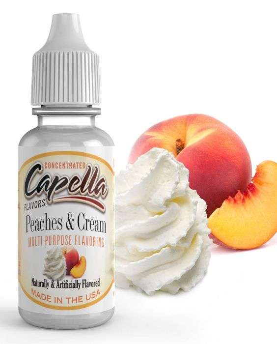 PeachesCream 1000x1241  02509.1433126280.1280.1280.jpgc 2 - Capella Peaches and Cream 13 мл