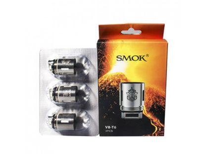 SMOK TFV8 V8 T6 Sextuple Coil 3 PACK 1 416x312 - SMOK TFV8 V8-T6 0.2 ом - сменный испаритель