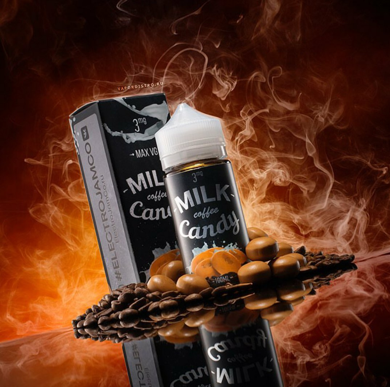 YQbzY2YLJq4 - ElectroJam Milk Coffe Candy 100 ml 3 mg