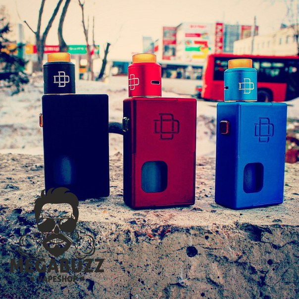 Zdl9rAQxa5E 1 - Druga Squonk Box Mod kit черный