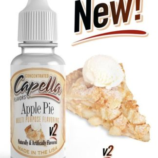 capella apple pie v2 324x324 - Cotton Candy Ice-Cola Cherry 120 ml 0 mg (+ никобустер)