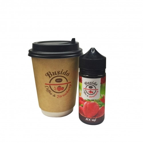 preview busido coffee strawberry - Busido Coffee & Strawberry 100 мл 0 мг