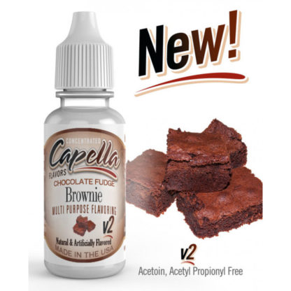 shokoladnyj brauni s pomadkoj v2 chocolate fudge brownie v2 aromatizator capella 189420104 800x800 416x416 - Capella Chocolate Fudge Brownie V2 13 ml