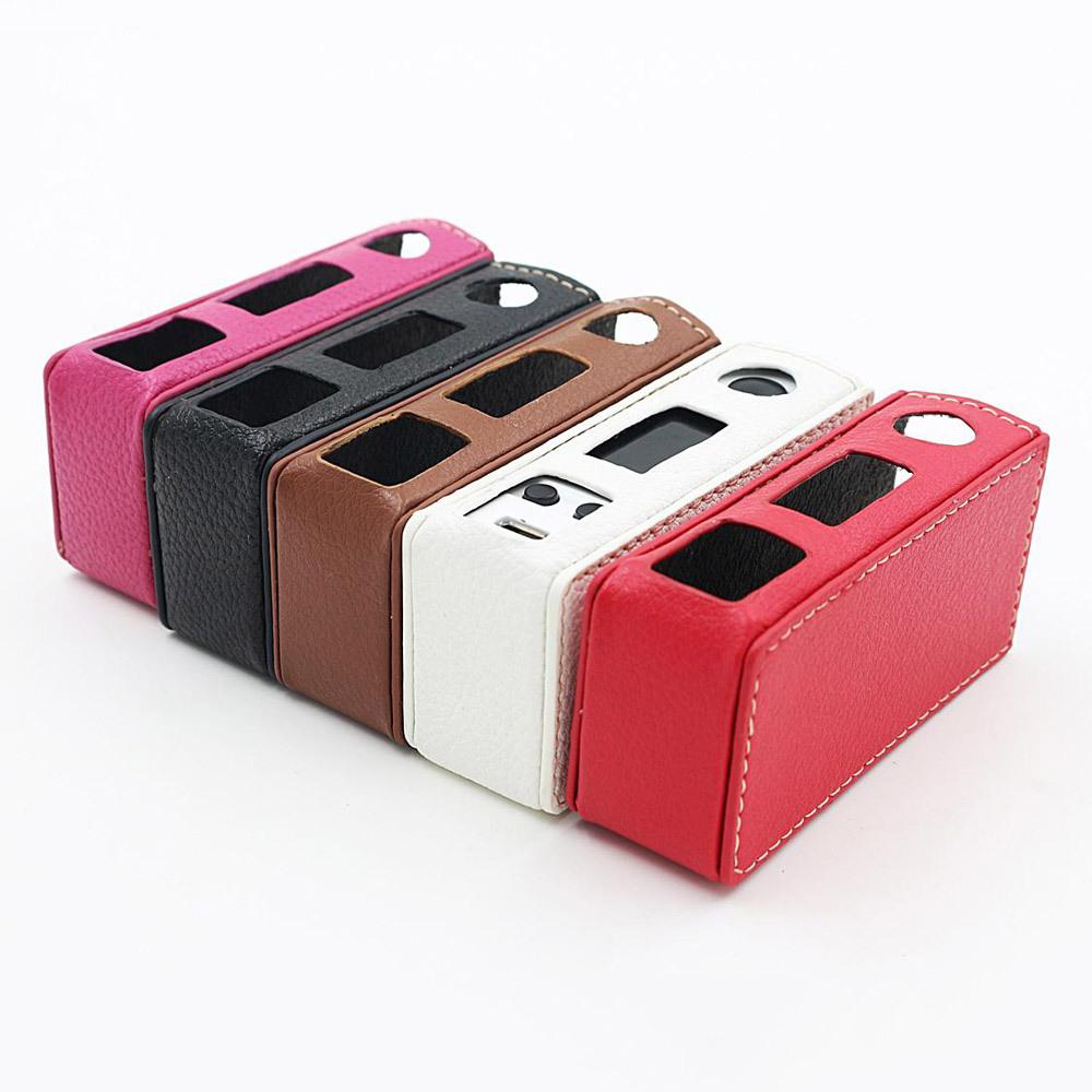 vapesoon leather case joyetech evic vtc mini 02 1 - Кожаный чехол для Evic-VTС Mini - Красный