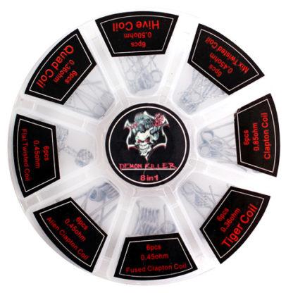 18 1 416x416 - Набор спиралей Demon Killer  8 в 1 (48шт)