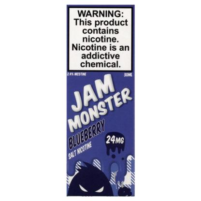 18 416x416 - JAM MONSTER SALT bluebery 30 ml 24 mg