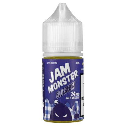 19 416x416 - JAM MONSTER SALT bluebery 30 ml 24 mg