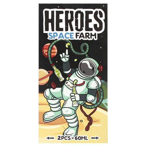25 500x500 - Heroes SpaceFarm 120 ml 3 mg