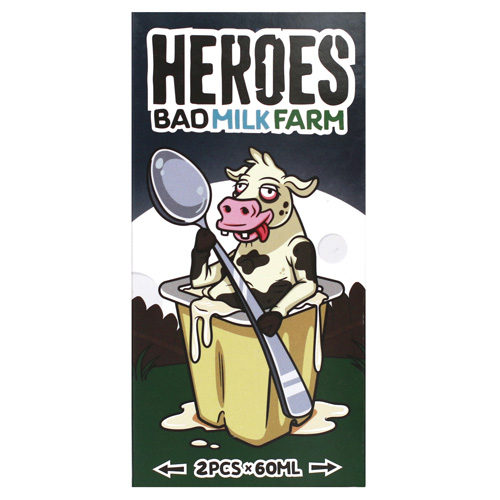 27 500x500 - Heroes BadMilkFarm 120 ml 3 mg