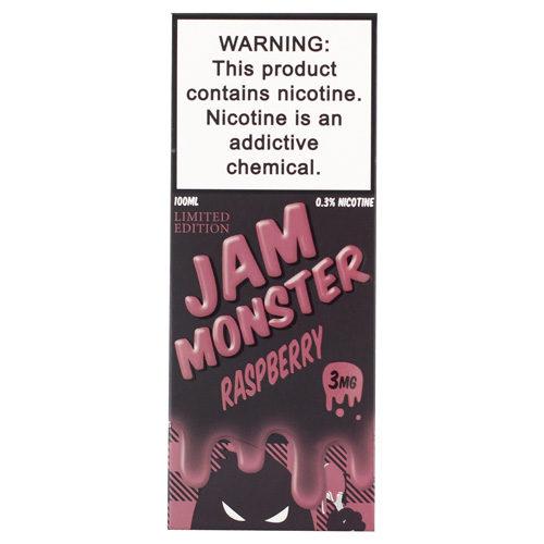 6 4 500x500 - Jam Monster Raspberry 100 ml 3 mg