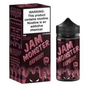 Jam Monster   100 Raspberry LE FDA 600x 300x300 - Jam Monster Raspberry 100 ml 3 mg