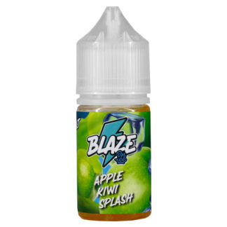 11 2 324x324 - Salt Blaze ON ICE Apple Kiwi Splash  30 ml 25 mg