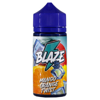 2 1 324x324 - BlAZE ON ICE V2. Mango Orange Twist 100 ml 3 mg
