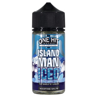 2 1 324x324 - ONE HIT WONDER NEW Island Man ICED 100 ml 3 mg