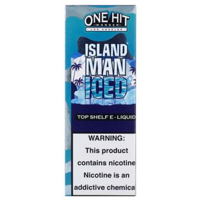 3 416x416 - ONE HIT WONDER NEW Island Man ICED 100 ml 3 mg