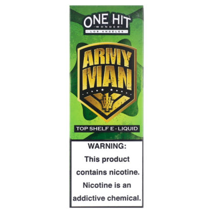 9 416x416 - ONE HIT WONDER NEW Army Man 100 ml 3 mg