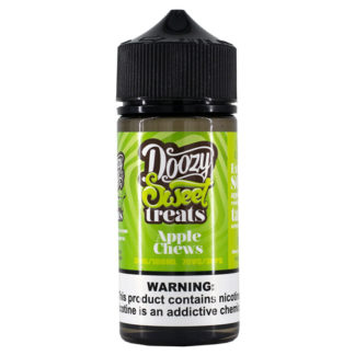 25 324x324 - Doozy Sweet Treats Apple Chews 3mg 100ml