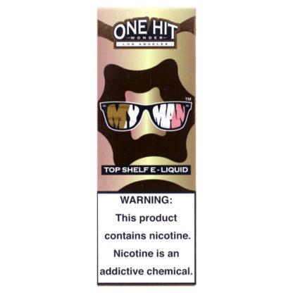 6 416x416 - ONE HIT WONDER NEW My Man 100 ml 3 mg