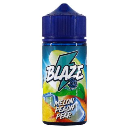 1 416x416 - BlAZE ON ICE Melon Peach Pear 100 ml 3 mg