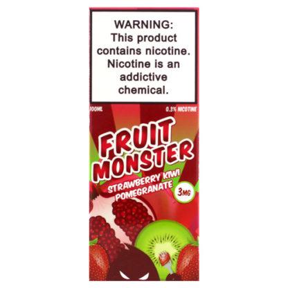 2 1 416x416 - Fruit Monster Strawberry Kiwi Pomegranat 100ml 3mg