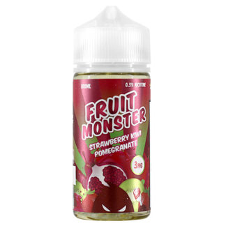 9 324x324 - Fruit Monster Strawberry Kiwi Pomegranat 100ml 3mg